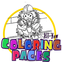 Mr. Plum's Coloring Pages